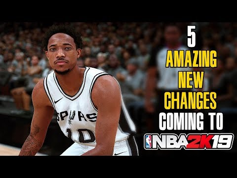 NBA 2K19 Gameplay Changes - Best 2K Game Ever Made?