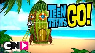 Teen Titans Go!   Cohete de bambú   Cartoon Network