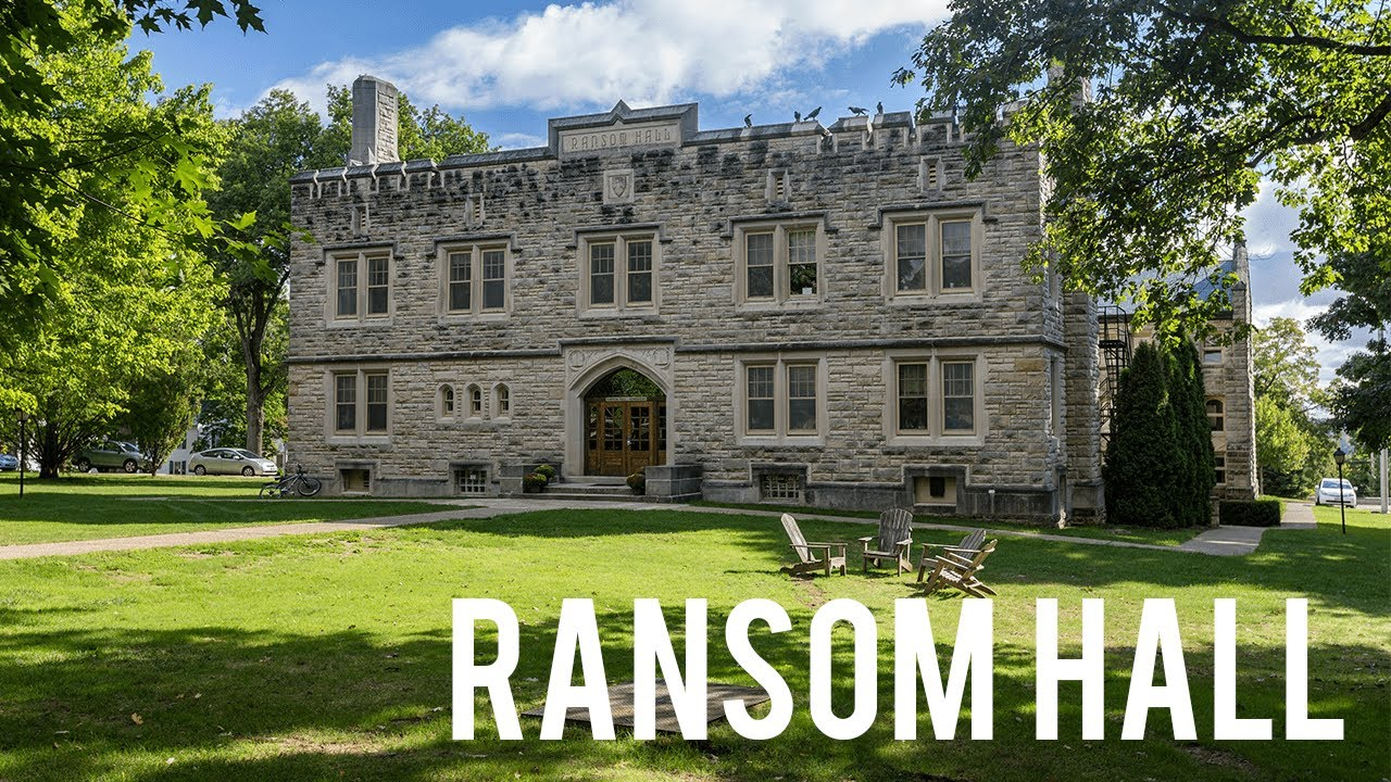 Kenyon College Virtual Tour Ransom Hall Youtube