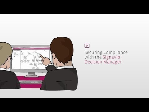Ensuring Compliance with the Signavio Process Manager – Explanation Video