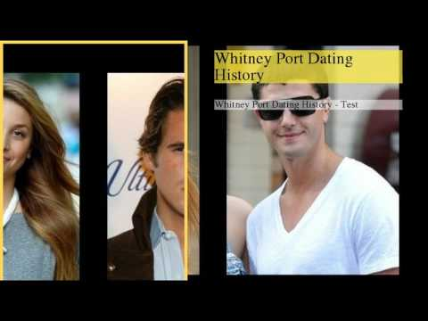 Whitney Port Dating History from YouTube · Duration:  1 minutes 21 seconds