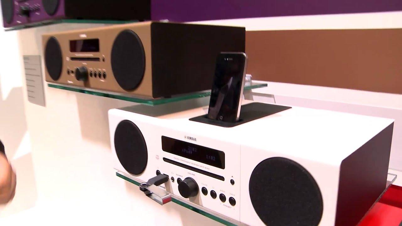 en desktop audio mcr b142 yamaha ifa 2012 youtube. Black Bedroom Furniture Sets. Home Design Ideas