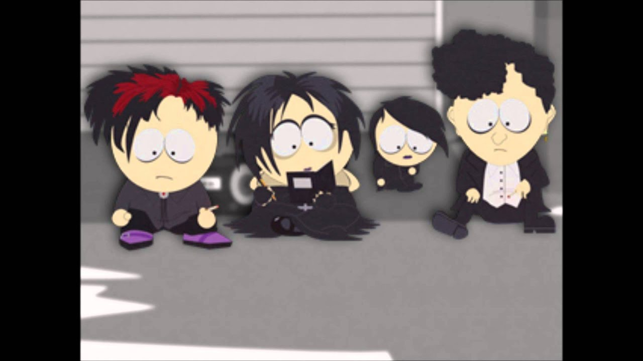 Emo Anime Girl Wallpaper South Park Goth Kids Music Youtube