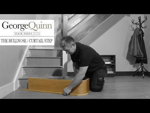 Staircase renovation - part 2: how to replace a bullnose step - George Quinn