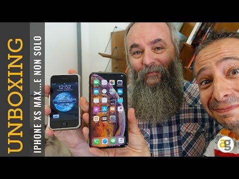 iPhone XS MAX e APPLE WATCH 4 Unboxing, prime impressioni e non solo...