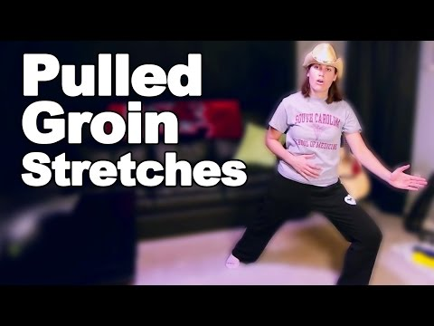Pulled Groin Pain Stretches - Ask Doctor Jo
