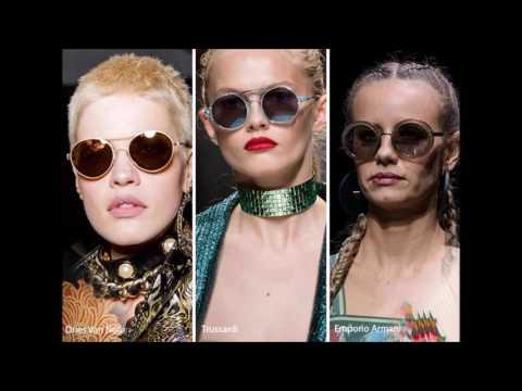 Модные солнцезащитные очки весны-лета 2017: авиаторы, бабочки, кошки, круглые,