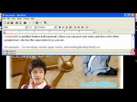 livejournal tutorial: community posting
