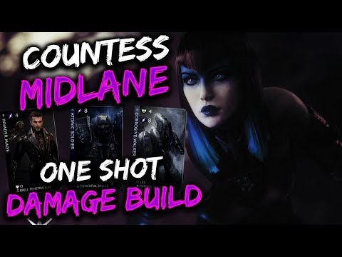Paragon Countess Gameplay - ONE SHOT BUILD...ALMOST!!!