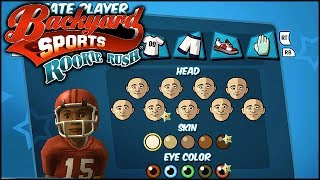 Backyard Football: Part 1 - Leon Daniels Jr. Makes his Debut!