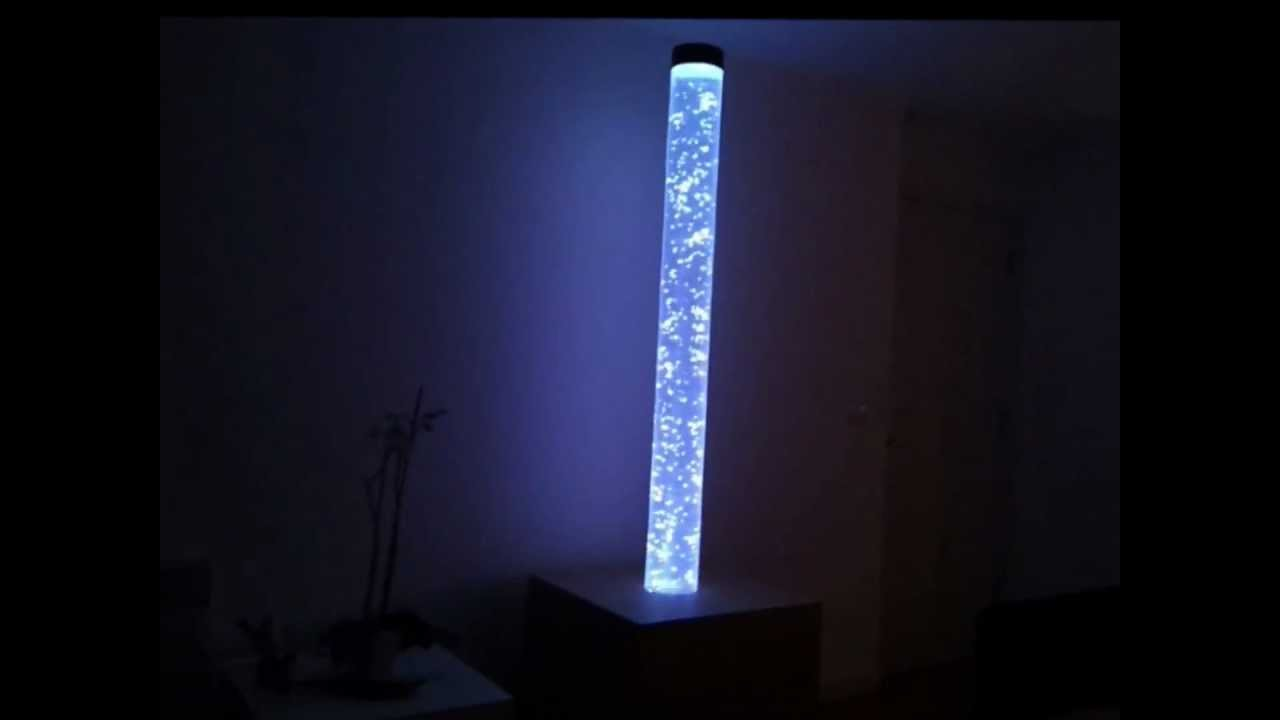 Bubble Tube Light With Colour Changing Led Lights Youtube