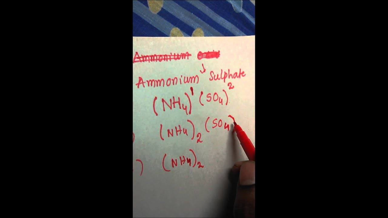 Writing Formula Of A Compound By Criss Cross Method Youtube