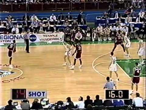 03/26/1993 NCAA West Regional Semifinals:  #7 Temple Owls vs.  #3 Vanderbilt Commodores
