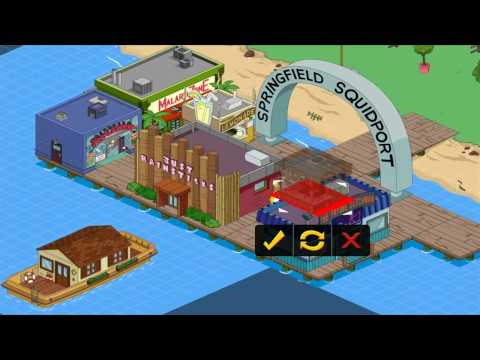 The Simpsons Tapped Out 4th Of July Fireworks Rex Banner Pyrotechnic Apu Part 1 HD Episode 34
