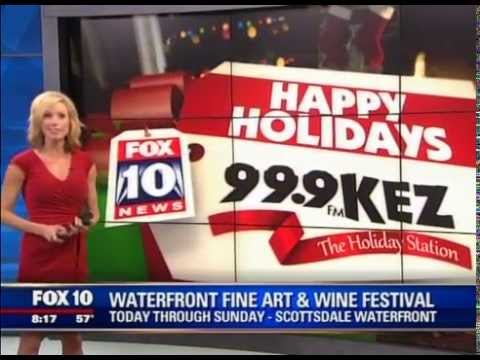 Fox 10 at the Thunderbird Artists Waterfront Fine Art & Wine Festival 2014