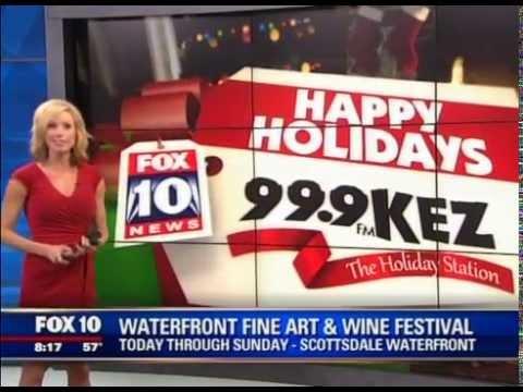 Fox 10 at the Thunderbird Artists Waterfront Fine Art & Wine Festival 2014