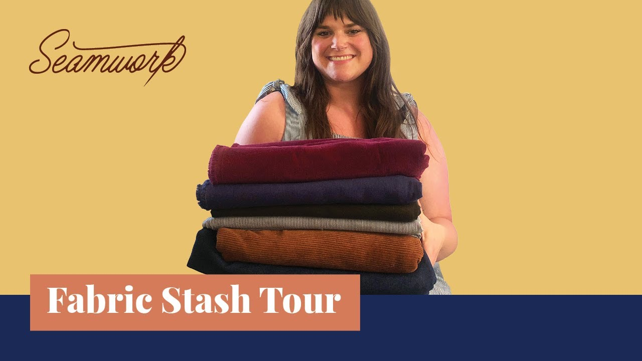 Fabric Stash Tour: Taylor shares organizing tips & favorite fabrics