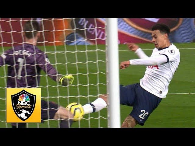 Dele Alli equalizes for Spurs v. Man United | Premier League | NBC Sports