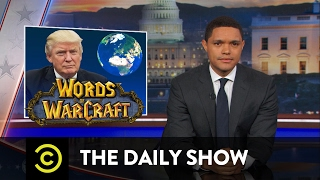 President Trump Tangles with Foreign Leaders: The Daily Show