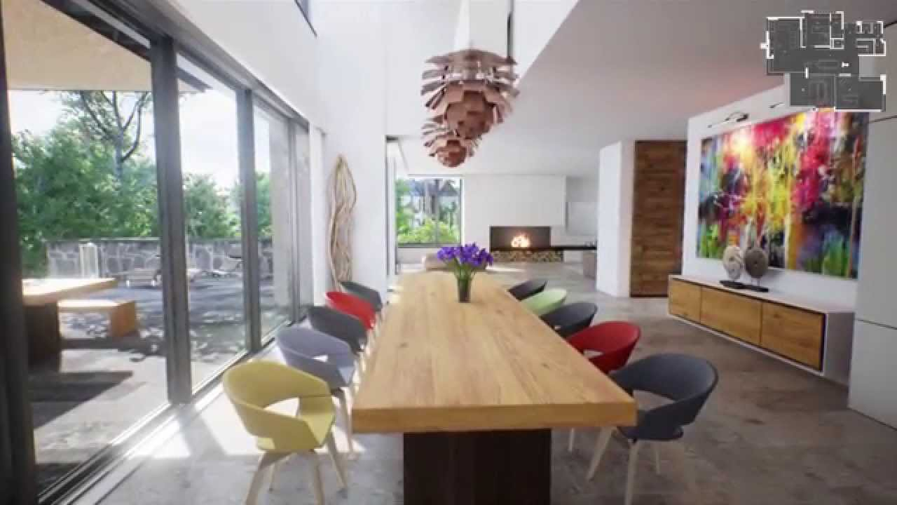 modern house real time virtual tour youtube