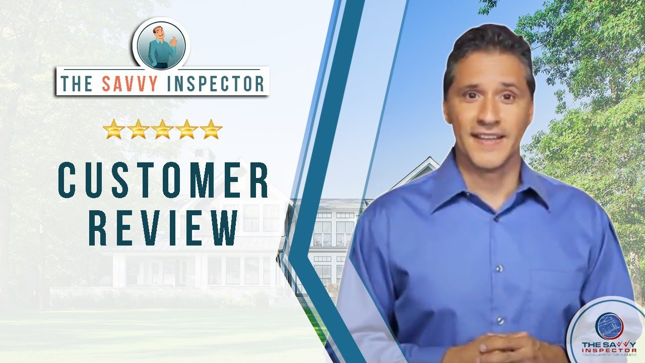 The Savvy Inspector Jasper Incredible 5 Star Review By Rick E