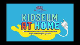Kidseum Virtual Art Instruction: Paper Mache Trophy