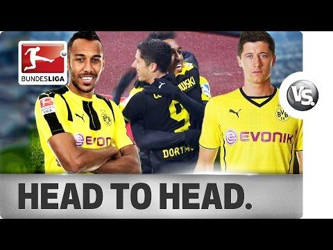Lewandowski vs. Aubameyang - Battle Between Dortmund Star Strikers Past & Present