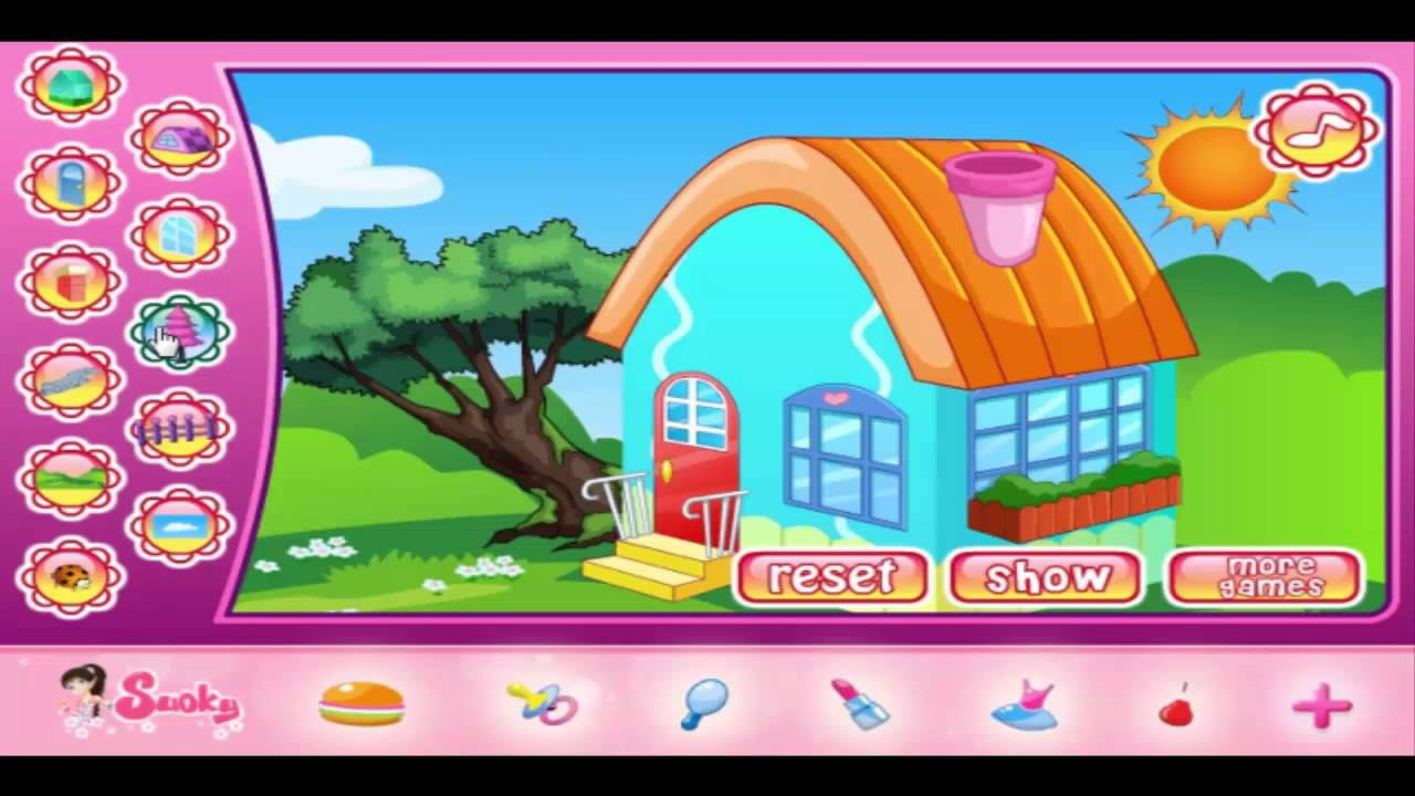 house design game - design games for girls - kids games.mp4 - youtube