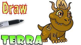 How to Draw Terra | Dragon City