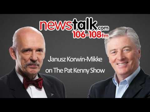 Janusz Korwin-Mikke on The Pat Kenny Show 15.03.2017
