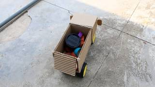 How to make a truck at home easy