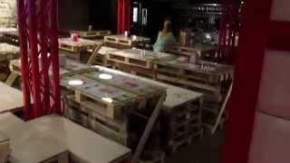 Дизайн кафе. Мебель из поддонов.(, 2015-05-12T08:03:51.000Z)