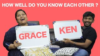 How Well Do You Know Each Other? Ep-10 - Ken & Grace Karunas Funfilled Interview | WE Magazine