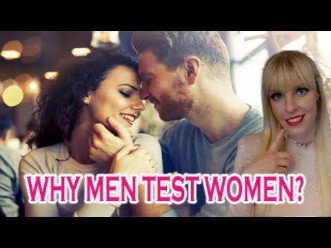 why men test women