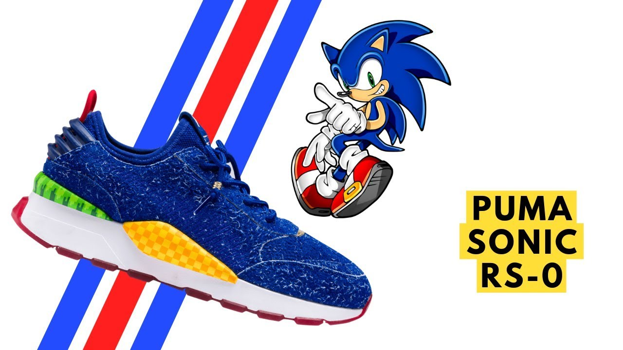 Get Yourself a Pair of Puma's Sonic the Hedgehog Sneakers on