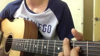 em yêu trường em guitar cover