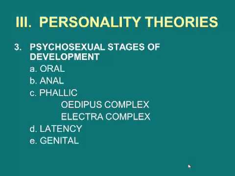 Psyc 2301 Chapter 11 Personality (Part A )- no captions