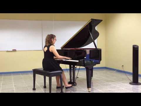 Allegro Energico Op. 6 Carlos Enrique Vargas, interpretado por Melissa Avalos Soto