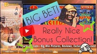Big Bet! Really Nice Bonus Collection With Big Wins!!