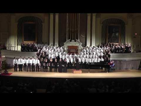 MMEA Central District SR Festival Chorus, Aurora Borealis