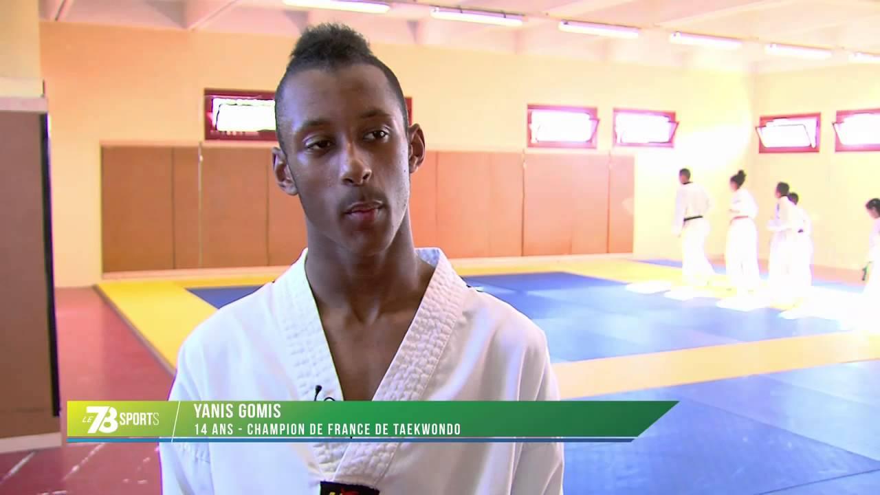 Taekwondo : le Trappiste, Yanis Gomis, champion de France