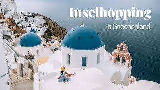 GRIECHENLAND - Inselhopping auf den Kykladen (Santorini, Paros, Antiparos)