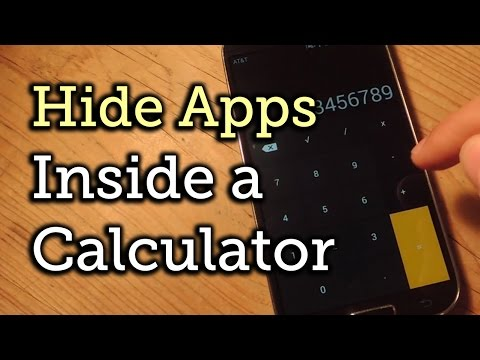 Hide Apps On Android Within A Seemingly Innocent Calculator [How-To]