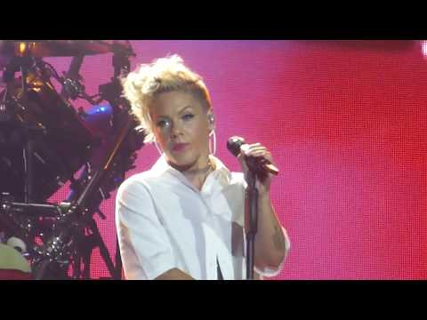 P!NK / PINK - What About Us - Live At Waldbuhne, Berlin - Fri 11th Aug 2017