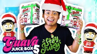 GUAVA JUICE BOX 5 HOLIDAY EDITION UNBOXING!