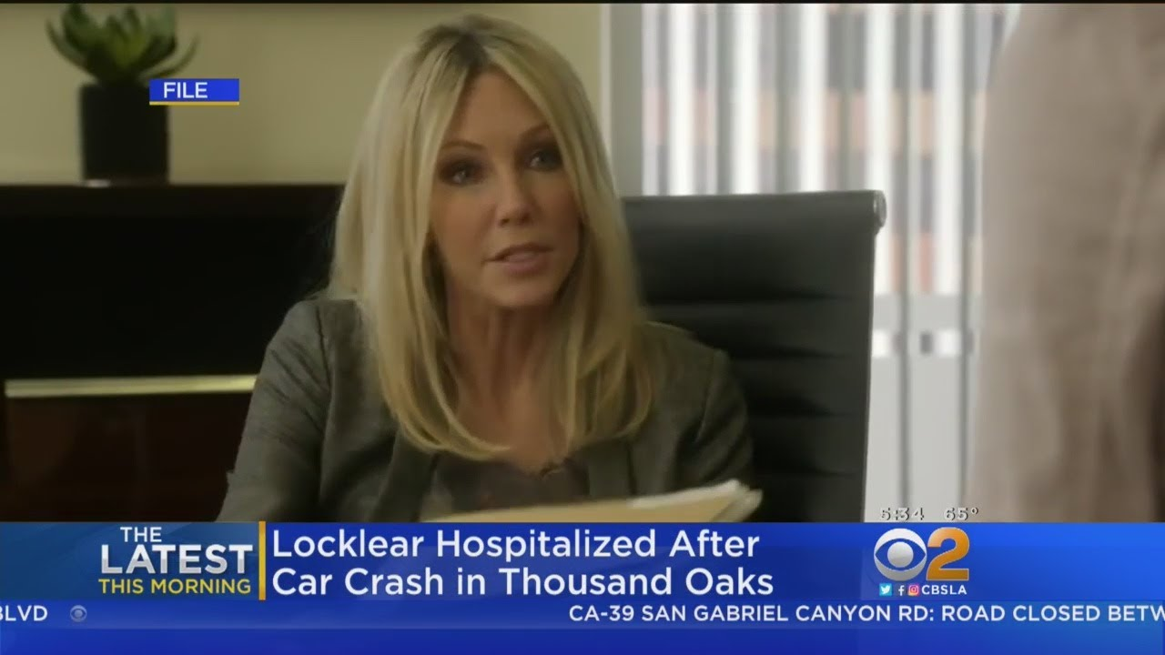 Heather Locklear back 'home and good' after crashing Porsche into a ditch