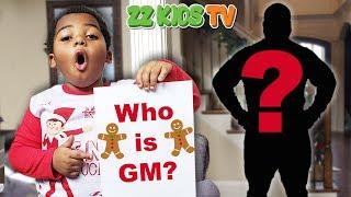 Who is GM? (ZZ Kids Reveals A Secret) 🎄☃️