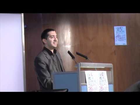 Mehdi Hassan at Progressive London Conference 2011