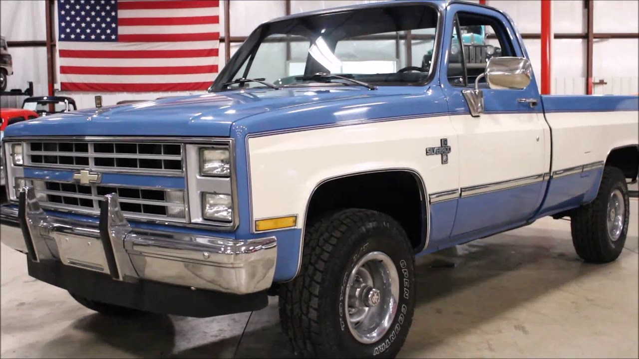 hight resolution of 1987 chevy k 10 blue