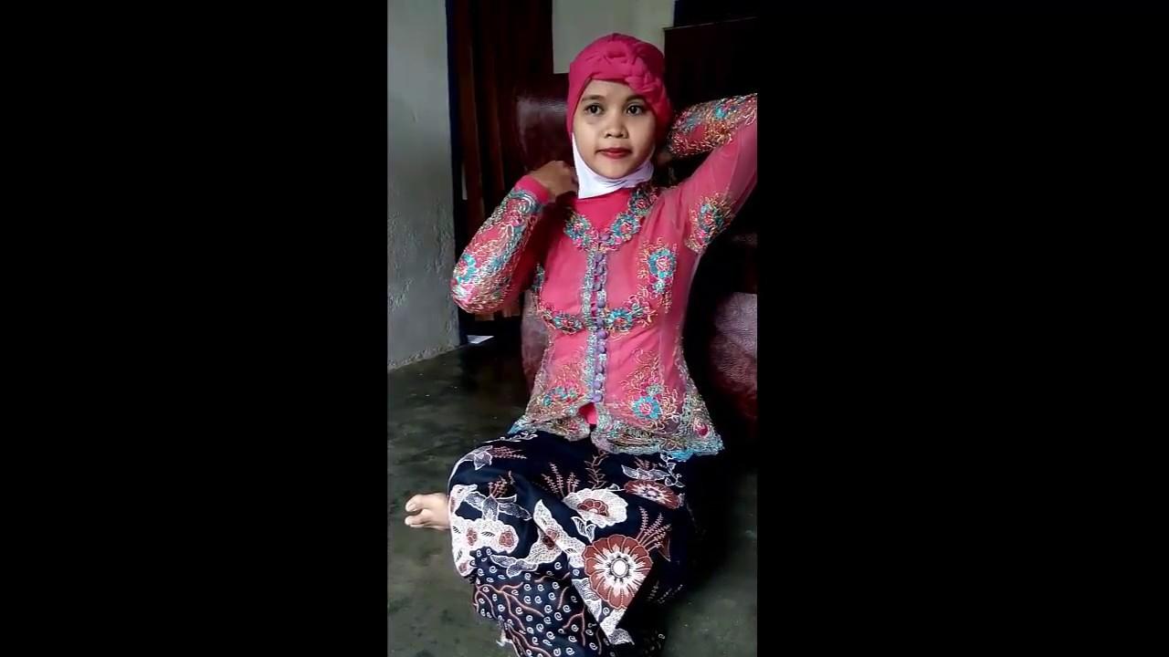 Tutorial Hijab Pashmina 2017 Model 1 Oleh Iis Naini Rahmawati